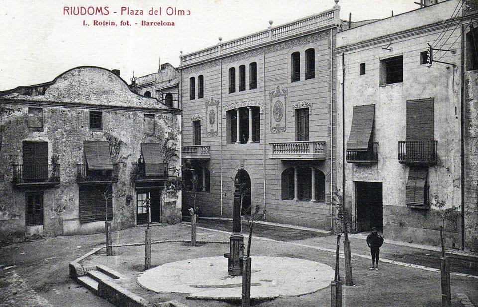 La Plaça de l'Om.